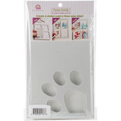 Paw Print - Queen & Co Foam Fronts 2pcs