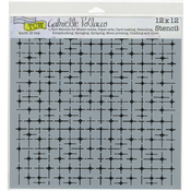 "Tile Mania - Crafter's Workshop Template 12""X12"""