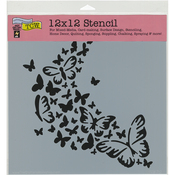 """Butterfly Trail - Crafter's Workshop Template 12""""X12"""""""