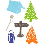 Camping - Little B Cutting Die