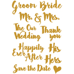 Wedding Words - Little B Cutting Die