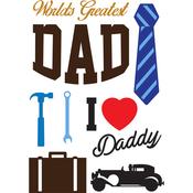 Dad - Little B Cutting Die