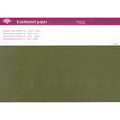 Reed Green - Pergamano Translucent Paper A4 150g 5 Sheets