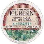 Wintergeen - Ice Resin Glass Glitter Shards