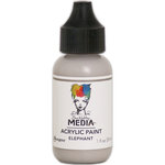 Elephant - Dina Wakley Media Heavy Body Acrylic Paint 1oz