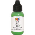 Evergreen - Dina Wakley Media Heavy Body Acrylic Paint 1oz
