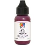 Fuchsia - Dina Wakley Media Heavy Body Acrylic Paint 1oz