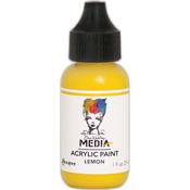 Lemon - Dina Wakley Media Heavy Body Acrylic Paint 1oz