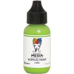 Lime - Dina Wakley Media Heavy Body Acrylic Paint 1oz