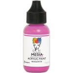Magenta - Dina Wakley Media Heavy Body Acrylic Paint 1oz