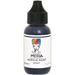 Night - Dina Wakley Media Heavy Body Acrylic Paint 1oz