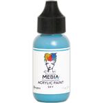 Sky - Dina Wakley Media Heavy Body Acrylic Paint 1oz