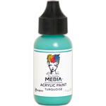 Turquoise - Dina Wakley Media Heavy Body Acrylic Paint 1oz