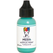 Turquoise - Dina Wakley Media Heavy Body Acrylic Paint 1oz