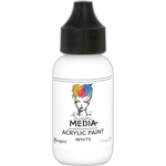 White - Dina Wakley Media Heavy Body Acrylic Paint 1oz