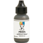 Medieval - Dina Wakley Media Heavy Body Metallic Acrylic Paint 1oz