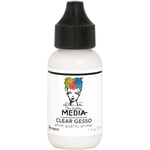 Clear - Dina Wakley Media Gesso 1oz Tube