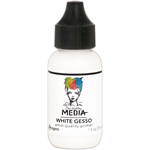 White - Dina Wakley Media Gesso 1oz Tube