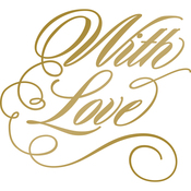 With Love - Anna Griffin Hotfoil Stamp Plates