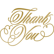 Thank You - Anna Griffin Hotfoil Stamp Plates