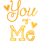 You & Me - Sweet Sentiments Hotfoil Stamp Plates