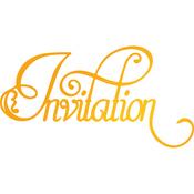 Invitation Flourish - Sweet Sentiments Hotfoil Stamp Plates