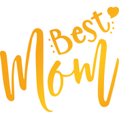 Best Mom - Sweet Sentiments Hotfoil Stamp Plates
