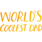 Coolest Dad - Sweet Sentiments Hotfoil Stamp Plates