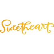 Sweetheart - Sweet Sentiments Hotfoil Stamp Plates