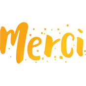 Merci - Sweet Sentiments Hotfoil Stamp Plates