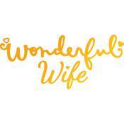 Wonderful Wife - Classic Sentiments Hotfoil Stamp Plates