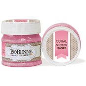 Coral - BoBunny Double Dot Glitter Paste 50ml