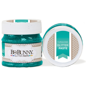 Turquoise - BoBunny Double Dot Glitter Paste 50ml