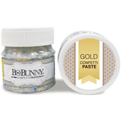 Gold Confetti - BoBunny Double Dot Glitter Paste 50ml
