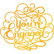 You're Engaged - Classic Sentiments Hotfoil Stamp Plates