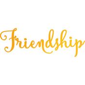 Friendship - Classic Sentiments Hotfoil Stamp Plates