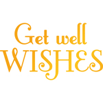 Get Well Wishes - Classic Sentiments Hotfoil Stamp Plates