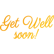 Get Well Soon - Classic Sentiments Hotfoil Stamp Plates