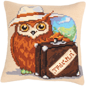 Voyager - Collection D'Art Stamped Needlepoint Cushion Kit 40X40cm