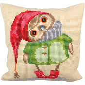 Good Night - Collection D'Art Stamped Needlepoint Cushion Kit 40X40cm