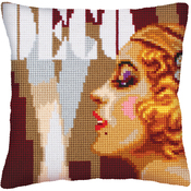 Art Deco II - Collection D'Art Stamped Needlepoint Cushion Kit 40X40cm