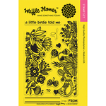 "Enveloper Little Birdie - Waffle Flower Crafts Clear Stamps 4""X6"""