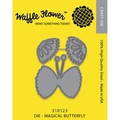 Magical Butterfly - Waffle Flower Die