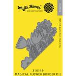 Magical Flower Border - Waffle Flower Die
