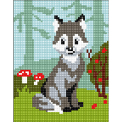 Wolf-Cub - Collection D'Art Stamped Needlepoint Kit 20X25cm