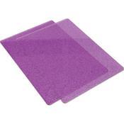 Purple W/Silver Glitter Big Shot Cutting Pads - Sizzix
