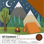 "Earthtones - American Crafts Variety Cardstock Pack 12""X12"" 60/Pkg"
