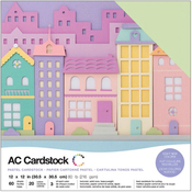Pastels - American Crafts Variety Cardstock Pack
