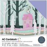 "Winter - American Crafts Variety Cardstock Pack 12""X12"" 60/Pkg"