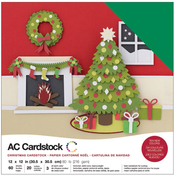 Christmas - American Crafts Variety Cardstock Pack